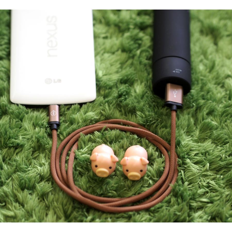 マイクロUSB ケーブル 充電 データ転送 microUSB 高耐久ナイロン編み 1.0m Android スマホ タブレット など対応 全4色 m.a.h onpro-japan-direct 09