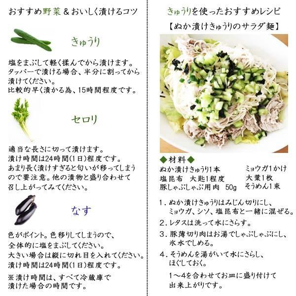 ぬか床 新商品「富士山ぬかみそ 駿河の恵み」 1kg ookawa-syokuhin01 10