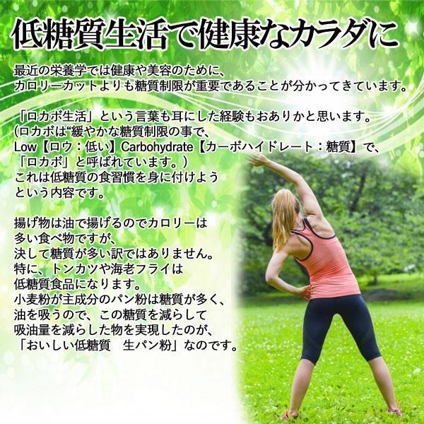 おいしい低糖質 生パン粉  100g  3袋セット 糖質70%カット【2セット購入したら送料無料】|ookawa-syokuhin01|09