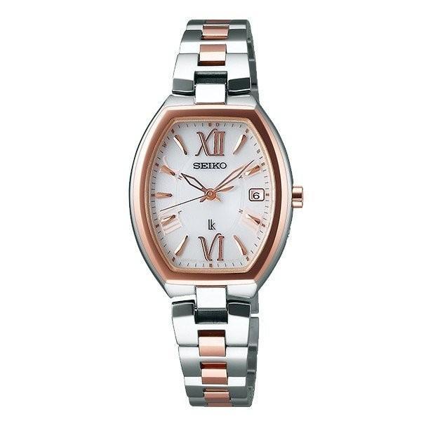 セイコー ルキア SSQW028 レディース 腕時計 コンフォテックス チタン SEIKO ソーラー電波時計 新品 oomoritokeiten
