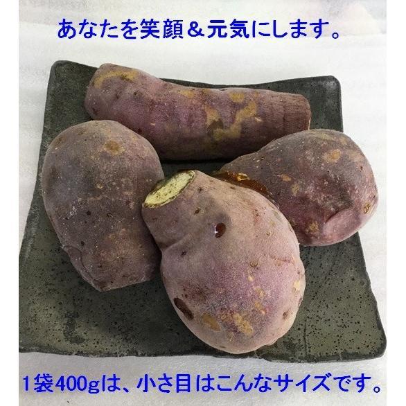 【今年最後の10袋限定】この冷凍焼き芋で感動してください。こんな焼き芋食べたことない! あなたを笑顔&元気にする冷凍焼き芋(紅はるか)400g 家庭用  |oomugiya-isakoubou|06