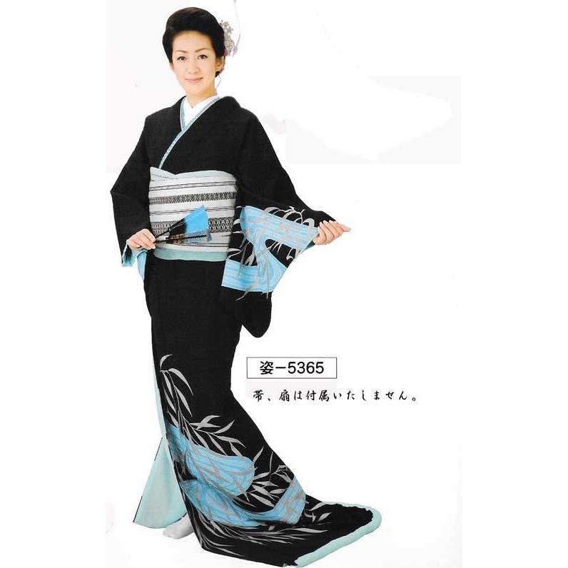 高級裾引衣装·姿印