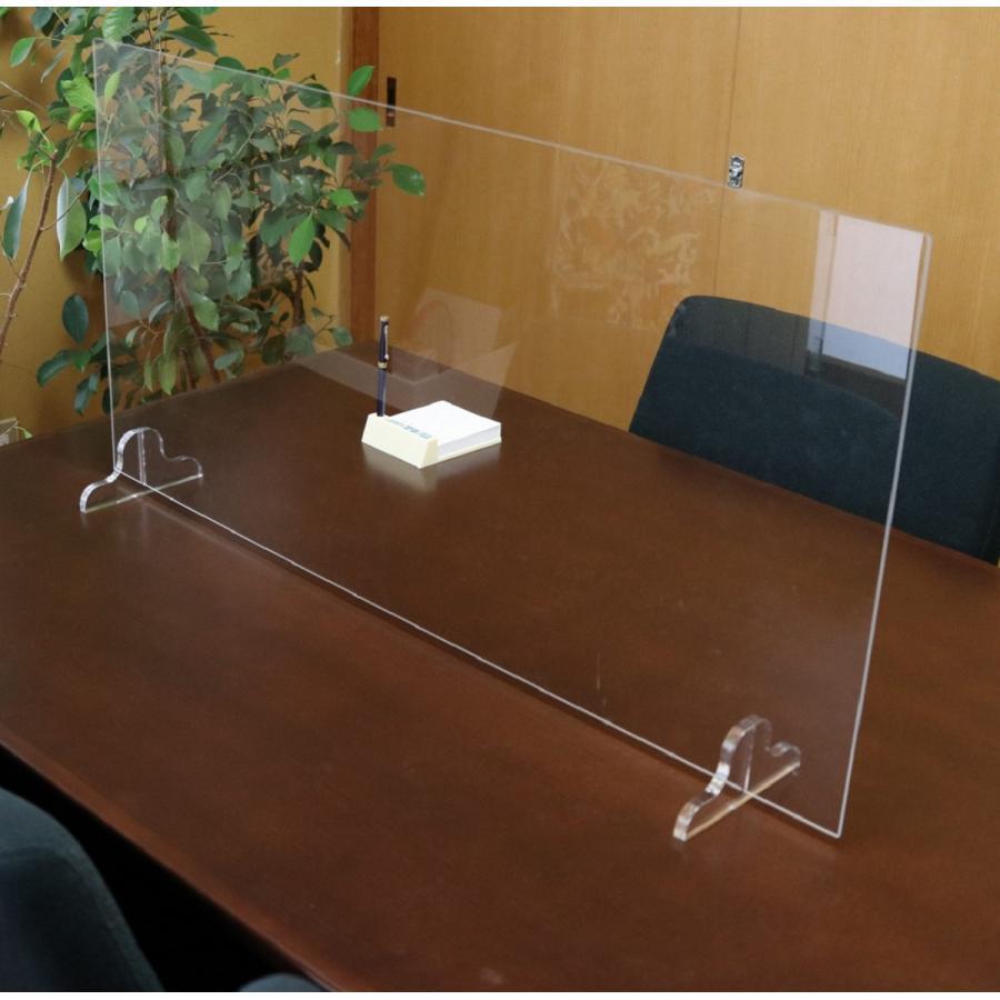アクリルパーテーション オフィス 感染拡大予防 粉塵防止|ooosupply|02