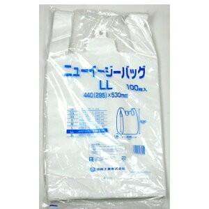 福助工業 ニューイージーバッグLL 乳白 100枚 oosaki