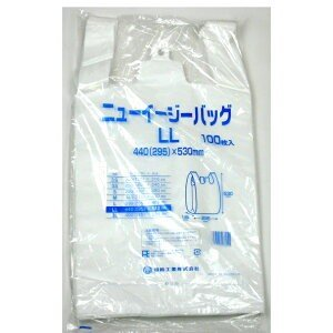 【送料無料(一部地域除く)】【1ケースまとめ買い10袋】福助工業 ニューイージーバッグLL 乳白 100枚|oosaki
