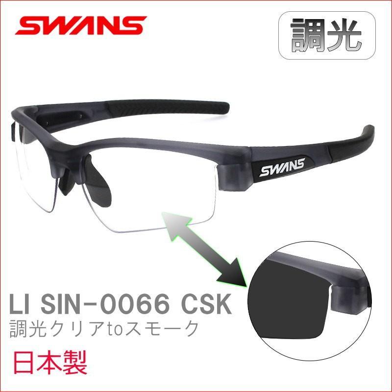 【未使用品】 SWANS(スワンズ) 調光 スポーツサングラス LION SIN ライオン シン LI SIN-0066 CSK クリアスモーク, フリースタイルショップ 36e2eeb1