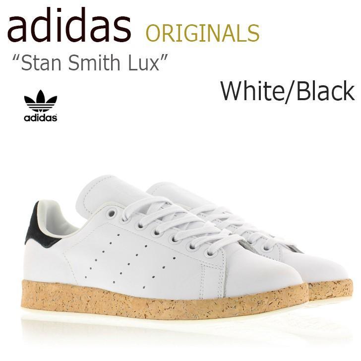 贅沢 アディダス スタンスミス スニーカー White adidas STANSMITH Luxe White Black Black ブラック アディダス S78907 シューズ, 近藤農園:d4b2ac68 --- theroofdoctorisin.com