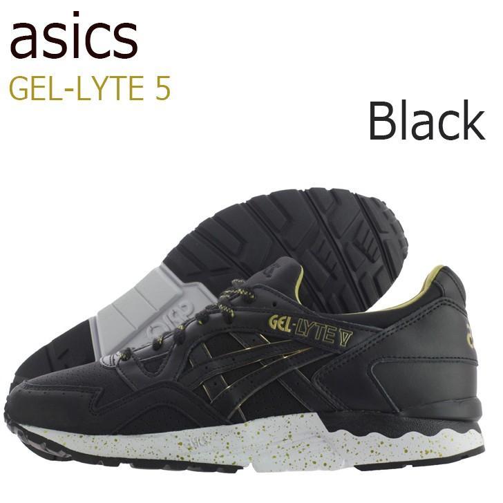 最上の品質な asics ゲルライト Gel Lyte asics 5 Black アシックスタイガー H605L-9090 ゲルライト シューズ スニーカー スニーカー, 聴こえの小径:7ae55cac --- theroofdoctorisin.com