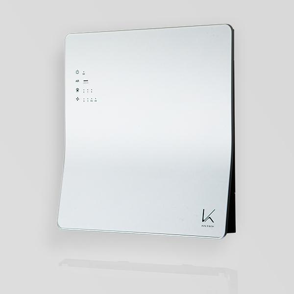 ターンドケイ光触媒空気清浄機壁掛けタイプカルテック製|optodesignlab|02