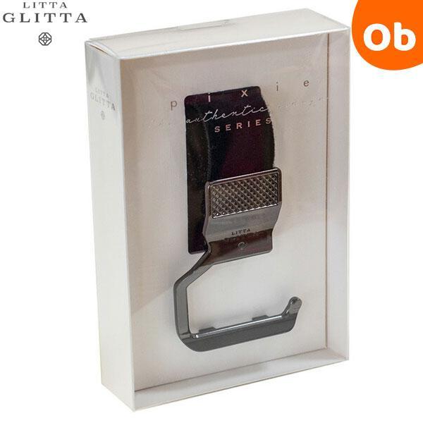 NEW ARRIVAL リッタグリッタ 価格 ピクシーフックリップ メタリックブラック シューズクリップ Glitta ボトルクリップLitta メール便送料無料