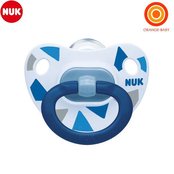 NUK ヌーク おしゃぶりハッピーデイズ 6-18カ月 消毒ケース付 トライアングル 初回限定 販売