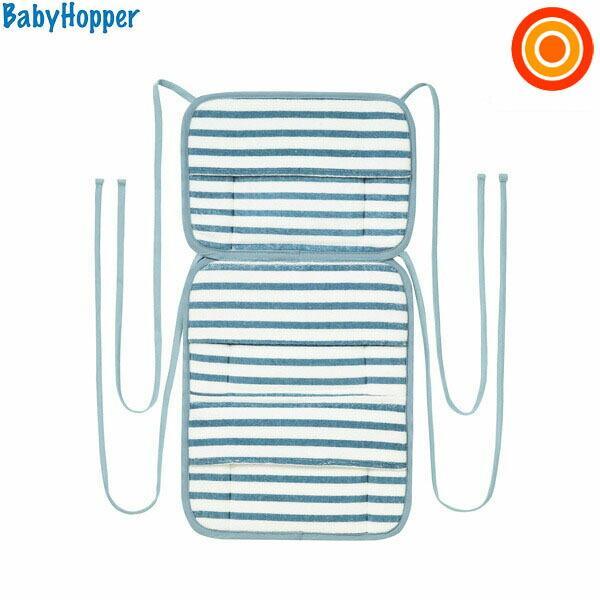 BabyHopper ベビーホッパー 保冷保温ベビーカーシート ブルーストライプ 売買 宅送 ゆうパケット送料無料