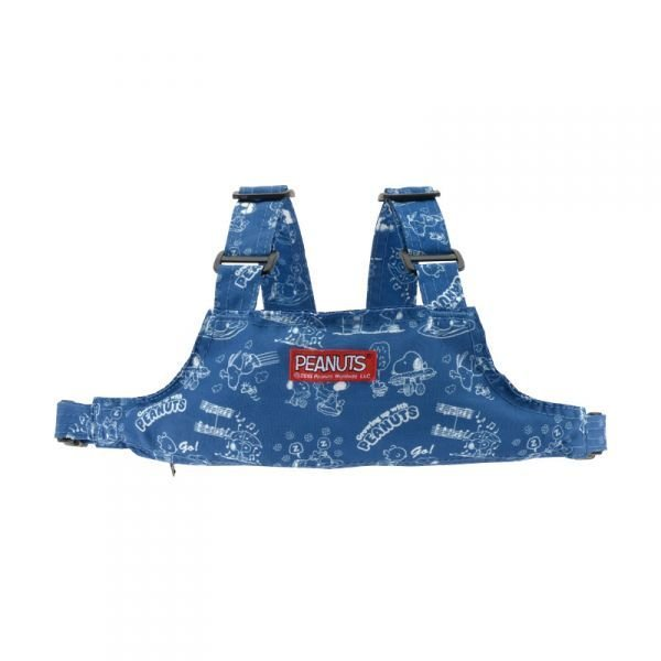 リッチェル スヌーピー 2WAYチェアベルトR ブルー B おでかけ先で重宝 商い 携帯に便利 メール便送料無料 お買い得 かんたんコンパクト