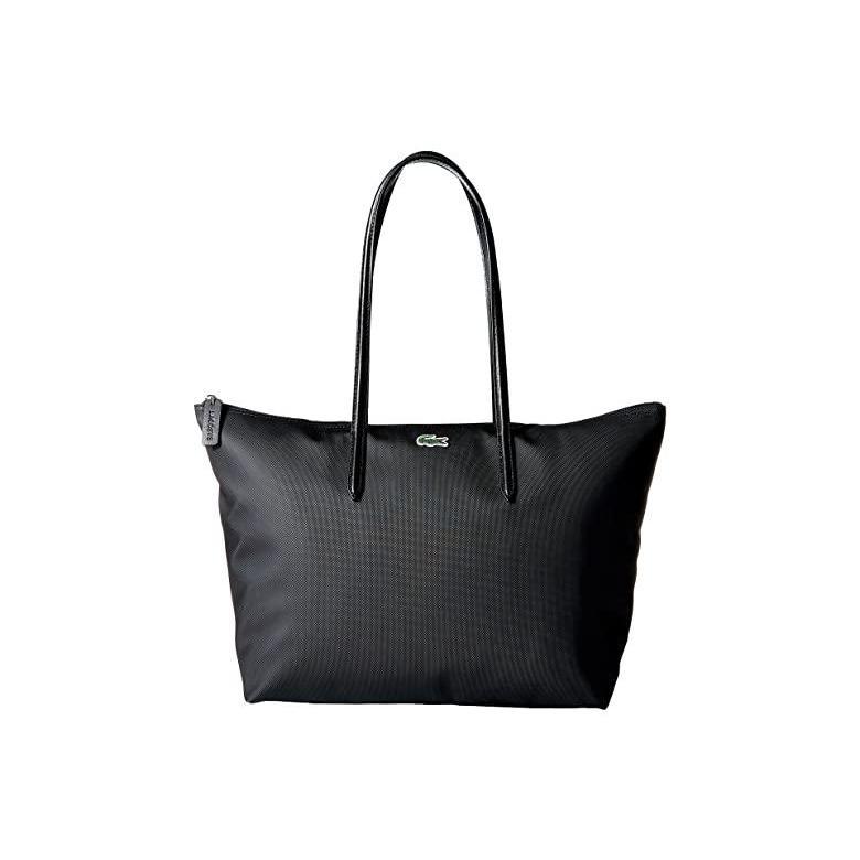 人気沸騰ブラドン ラコステ Lacoste ラコステ Lacoste L.12.12 Concept Large Shopping Bag レディース Large ハンドバッグ かばん Black 1, 平取町:fd76630d --- chizeng.com