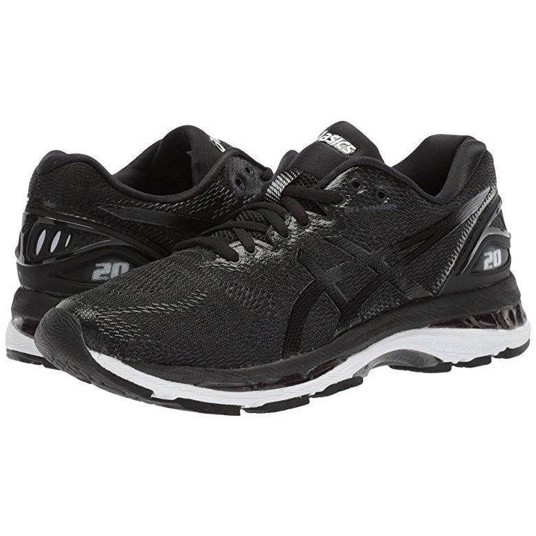 非常に高い品質 アシックス ASICS GEL-Nimbus Black/White/Carbon 20 レディース アシックス スニーカー Black/White スニーカー/Carbon, カメラの大林:2feb16df --- theroofdoctorisin.com