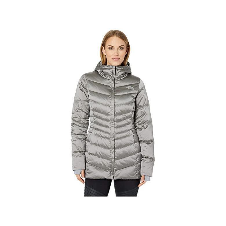 当店だけの限定モデル ザ・ノースフェイス The North Face Aconcagua Parka II レディース Coats & Outerwear Shiny Mid Grey, キットマネキン 182499a8