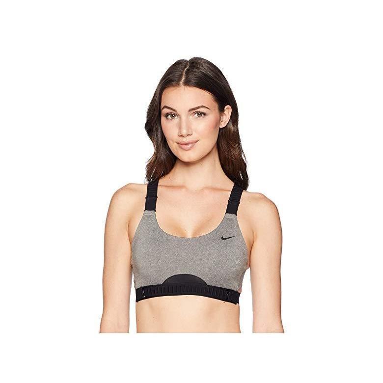 ナイキ Nike Classic Adjust Bra レディース パンツ ブラジャー 下着 Carbon Heather/黒/黒