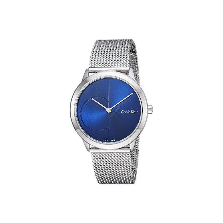 無料発送 カルバン Klein・クライン Calvin Blueu002FSilver Klein Minimal Watch Watch - K3M2212N レディース 腕時計 時計 ファッションウォッチ Blueu002FSilver, ウェディングショップ DELLA WAY:b12af950 --- airmodconsu.dominiotemporario.com