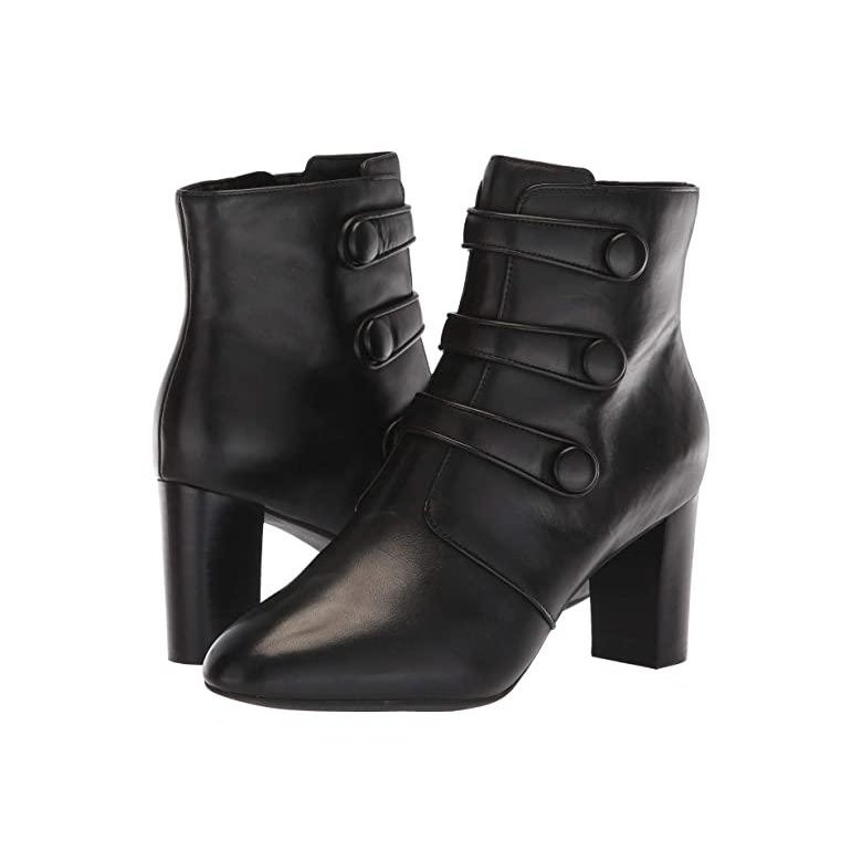 店舗良い クラークス Clarks Chryssa Ella レディース Leather ブーツ ブーツ Black Chryssa Leather, 洗える布団専門店 ウインドバード:3758e6e8 --- fresh-beauty.com.au