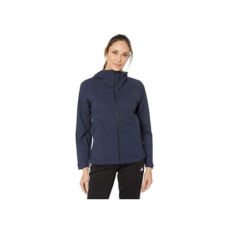 男女兼用 アディダス adidas Outdoor Swift Rain Jacket レディース Coats & Outerwear Legend Ink, ヌカタグン 732b5f88
