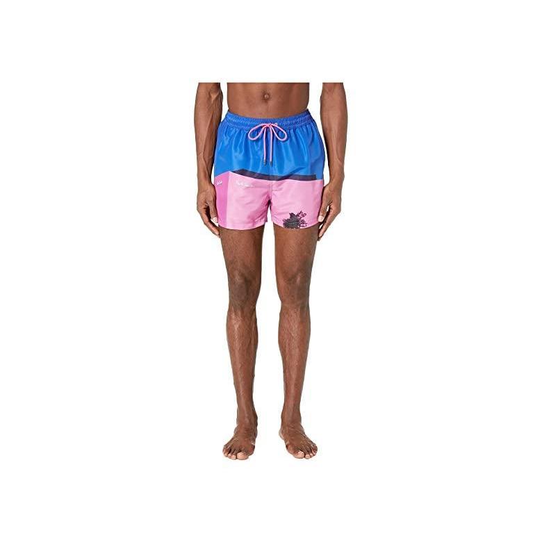 ポール・スミス Paul Smith La ピンク Wall Classic Swim Shorts メンズ 水着 海パン Multicolor
