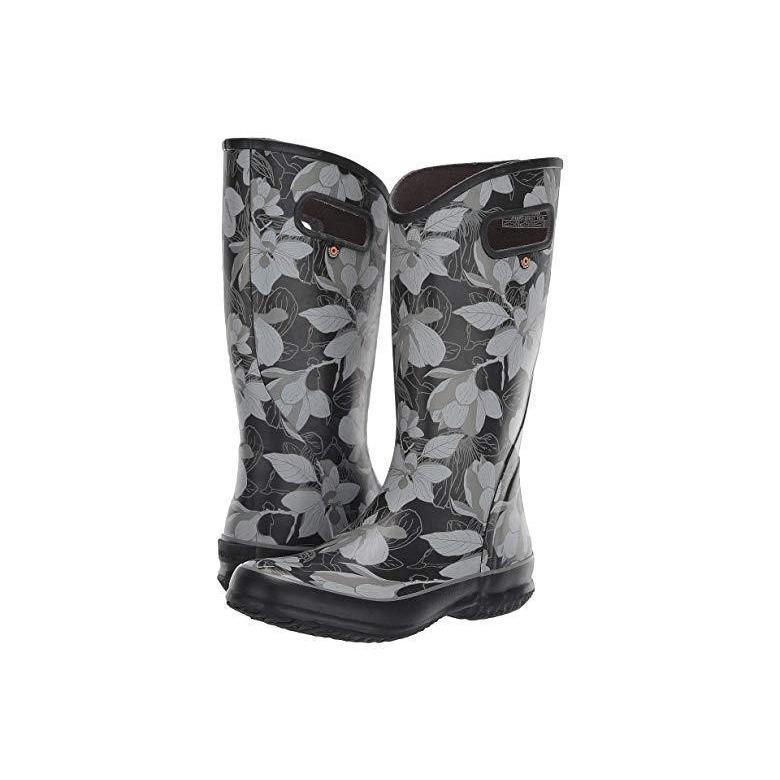 【ポイント10倍】 Bogs Bogs Spring Vintage Rain Black Boot Rain レディース ブーツ Boot Black Multi, ヒラタムラ:7c92ff66 --- fresh-beauty.com.au
