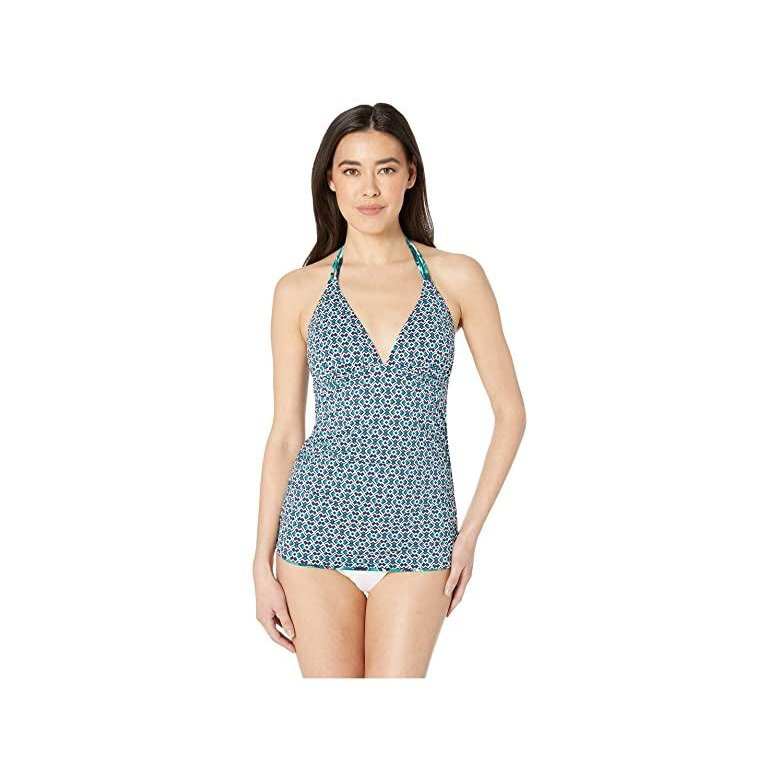 トミー バハマ Tommy Bahama Breezy Palm Reversible Tankini レディース 水着 Mare Navy