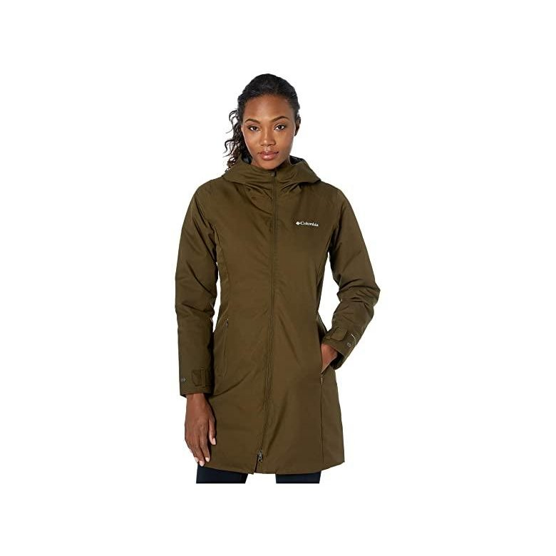 高品質の激安 コロンビア Columbia Autumn Rise Mid Jacket レディース Coats & Outerwear Olive Green, プレミアワインセラー e09ec989