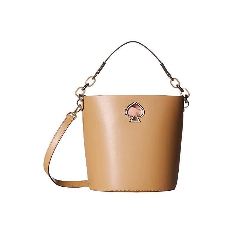 玄関先迄納品 ケイトスペード Kate Small Spade New Kate York Suzy Small Pecan Bucket レディース ハンドバッグ かばん Rich Pecan, イナベグン:a5403970 --- chizeng.com