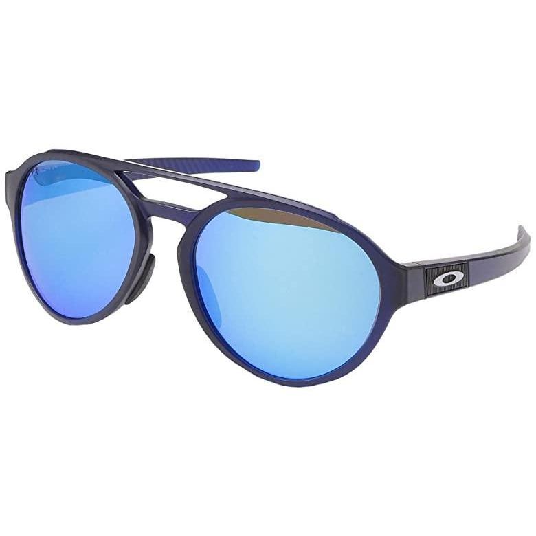 【使い勝手の良い】 オークリー Polarized Oakley メンズ Forager メンズ サングラス Matte Transparent Blue Transparent wu002F PRIZM Sapphire Polarized, 地球家具:c94391a8 --- grafis.com.tr