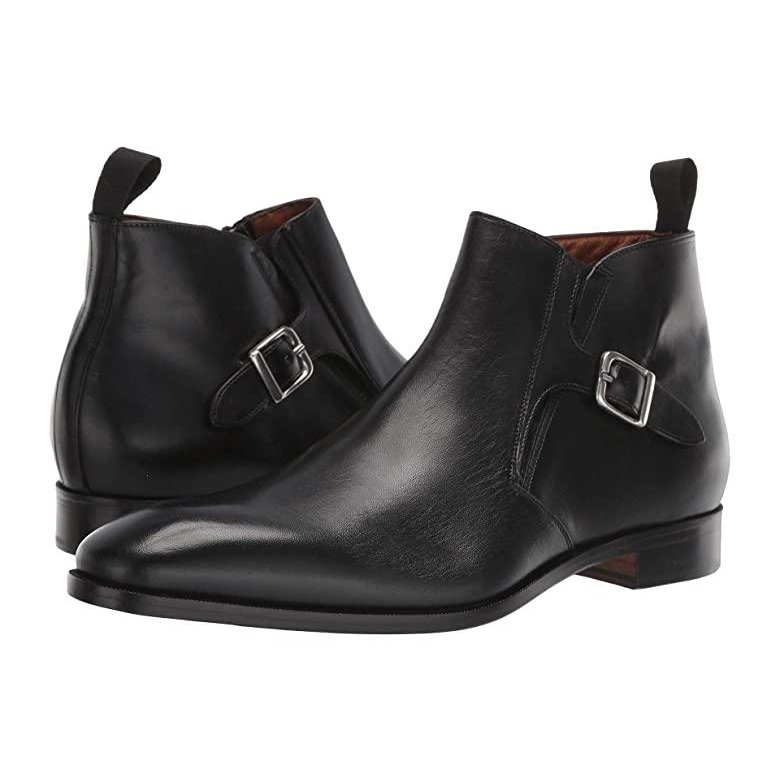 最高の Massimo Matteo メンズ Massimo Matteo Boot with Buckle メンズ ブーツ Matteo ブーツ Black, タチカワマチ:1212556e --- sonpurmela.online