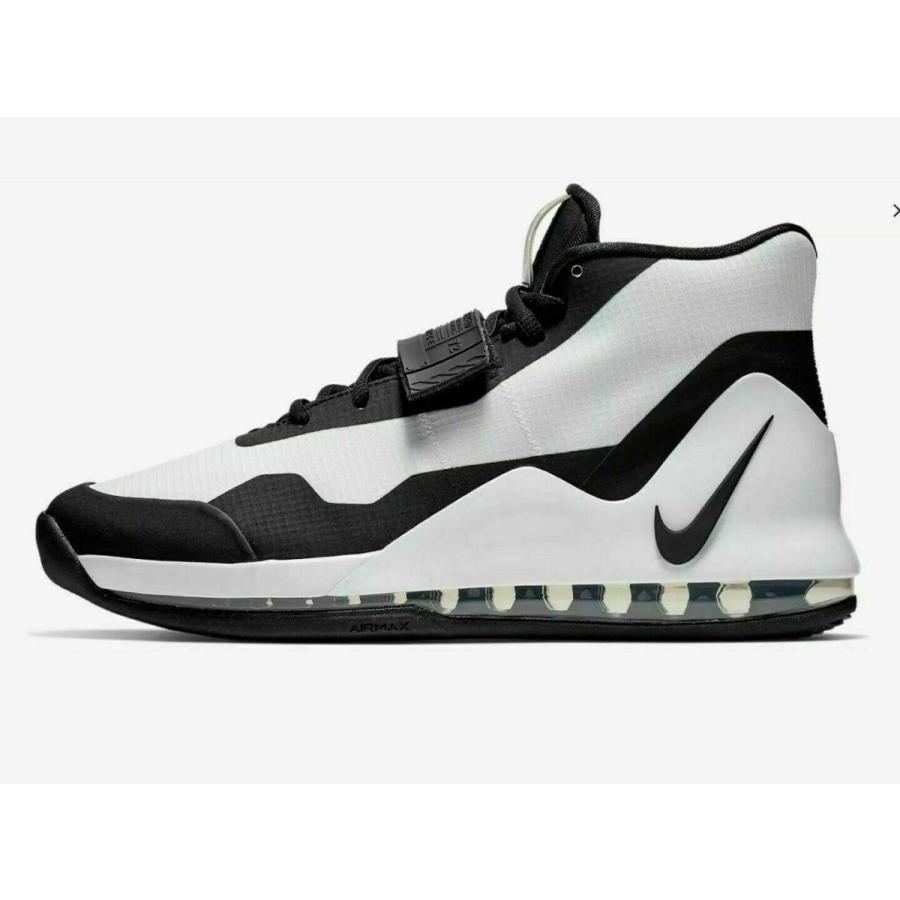 ナイキ NIKE エア フォース マックス Air Force Max Basketball Shoes メンズ AR0974-101 バスケットシューズ 白い 黒