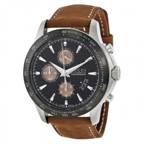 高品質 G-Timeless Black Men's Watch Dial Leather Men's Dial Watch, Gardens Market:ab5aae57 --- airmodconsu.dominiotemporario.com