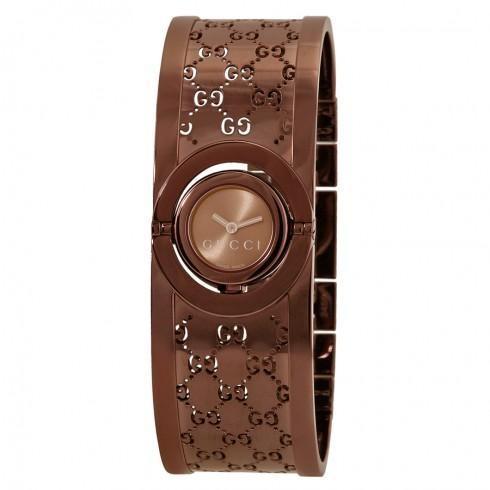 堅実な究極の Twirl Dial Quartz Ladies Brown Dial Bangle Ladies Twirl Watch, 新車選び.COM:f4d5cc02 --- airmodconsu.dominiotemporario.com