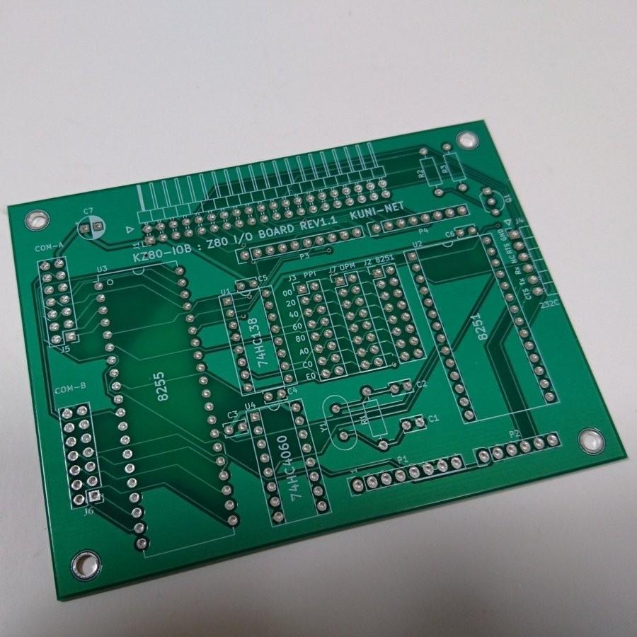 Z80 I/Oボード(KZ80-IOB) 専用基板|orangepicoshop|02