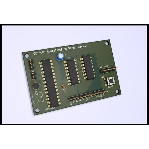 COSMAC 音声出力シールド 専用プリント基板|orangepicoshop