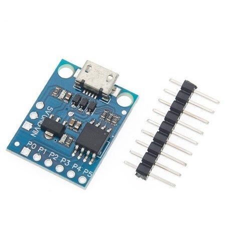 ATTiny85 Arduino Digispark 互換機 (microUSB)|orangepicoshop|02