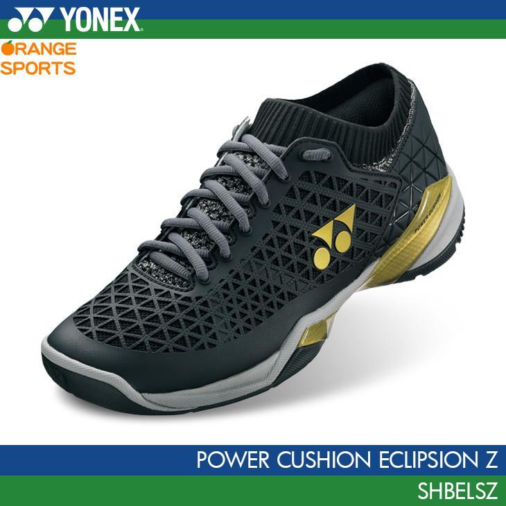 ヨネックス バドミントンシューズ パワークッション エクリプション Z POWER CUSHION ECLIPSION Z SHBELSZ YONEX ブラック/ゴールド(184) ローカット 3E