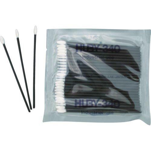 HUBY フラットスワイプ(導電プラ軸使用)  (5000本入) ( FS-010MB ) (株)クリーンクロス
