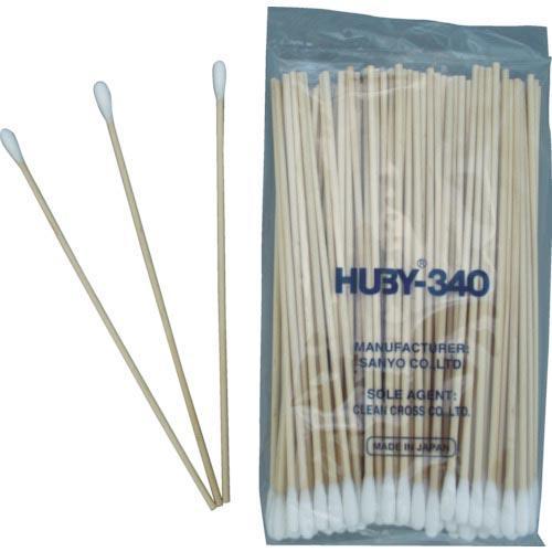 HUBY コットンアプリケーター  (20000本入) CA-006 ( CA006 ) (株)クリーンクロス