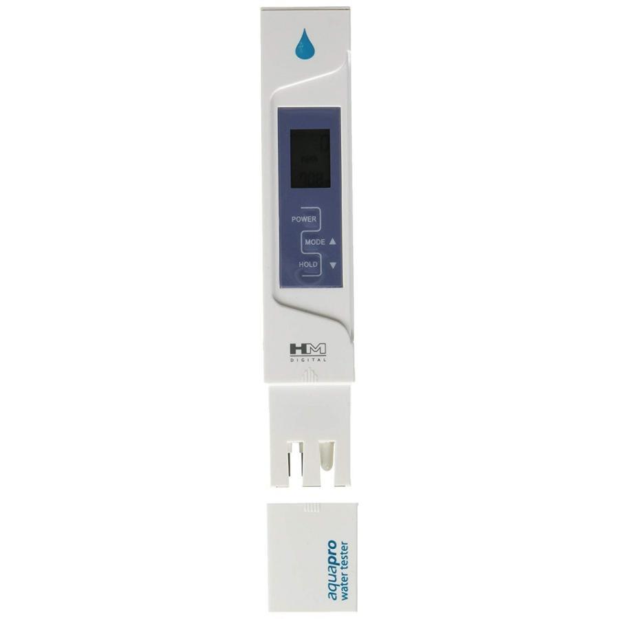 アクアプロ TDSメーター HMデジタル AP-1 温度計 校正機能付 デジタルTDSメーター TDS測定器 水質 水溶物質測定器 水質 水槽 測定コーヒー hm ez|oremeca