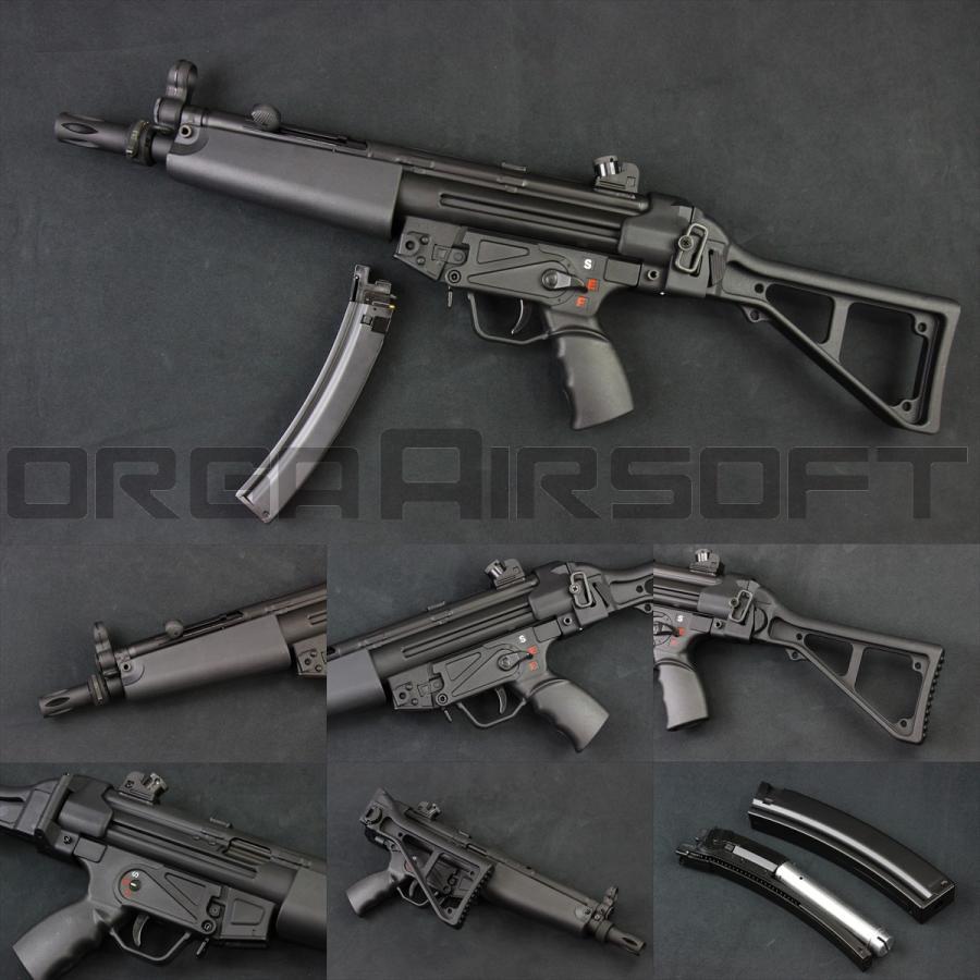 SRC SR5 AU MP5 CO2ガスブロ(COB-403TM) MP5 CO2GBB orga-airsoft
