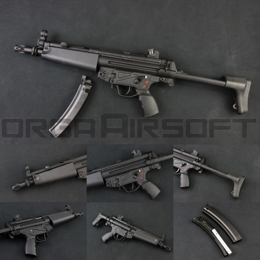 SRC SR5 A3 MP5 CO2ガスブロ(COB-405TM) MP5 CO2GBB