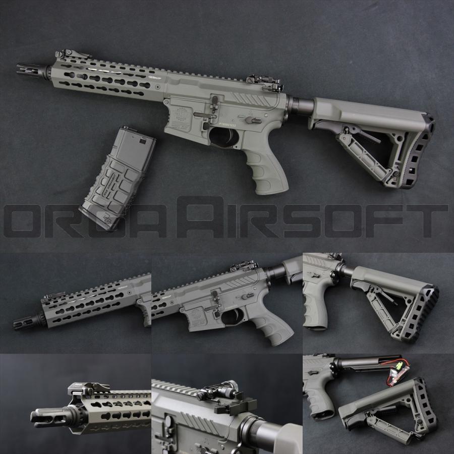 CM16 (ETU+MOSFET) 電動ガン 7インチ Gray(US) BattleShip SRS