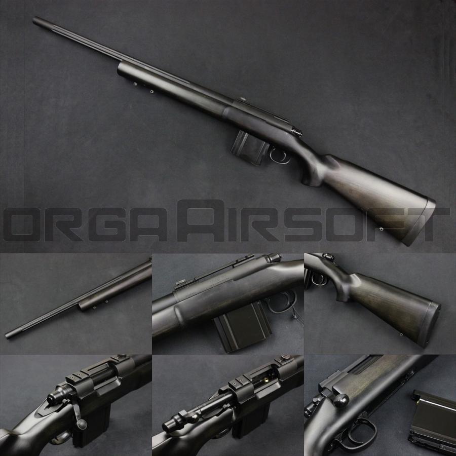 KING ARMS M700 POLICE RIFLE BK ガスボルトアクション