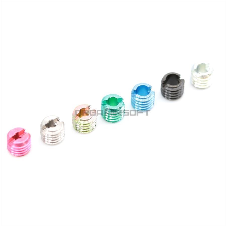 大幅にプライスダウン ORGA 買取 GHKガスライフル用 M5初速調整ノズルスクリュー