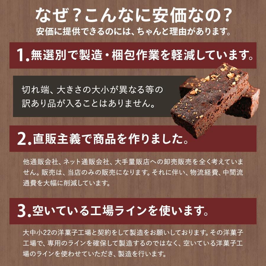 チョコレートケーキ SUPERブラウニーバー 10本入 ブラウニー チョコ  送料無料 クーベルチュール お試し ポイント消化 1000円ぽっきり セール organic 06