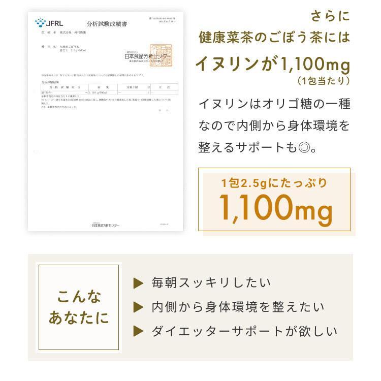 国産 ごぼう茶 2.5g 50包 ごぼう100% 九州産 ティーパック 送料無料 OITA30CP_2020_飲料|organickitchen|07