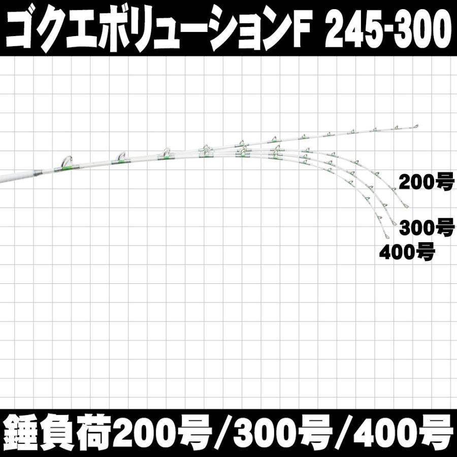総糸巻 中深海・深海 GokuEvolution (ゴクエボリューション) F 245-300(200〜400号)/245-400(200〜500号)(90071) ori 06
