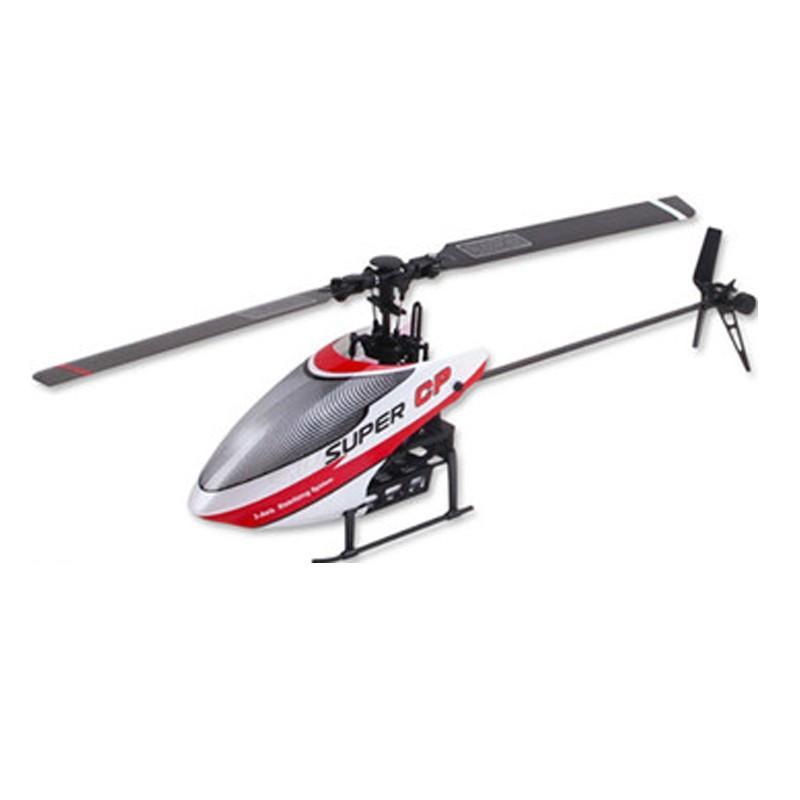 ワルケラ 初心者向け 6ch 小型ヘリ Super CP + DEVO10 プロポ付きセット 3軸ジャイロ 3Dフライト対応 2.4Ghzプロポ (walkera-supercp-devo10)